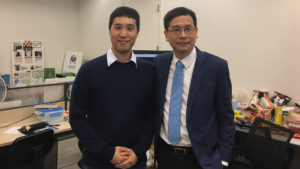 Legislative Councillor Mr Ip Kin Yuen visit to MagiCube's Office