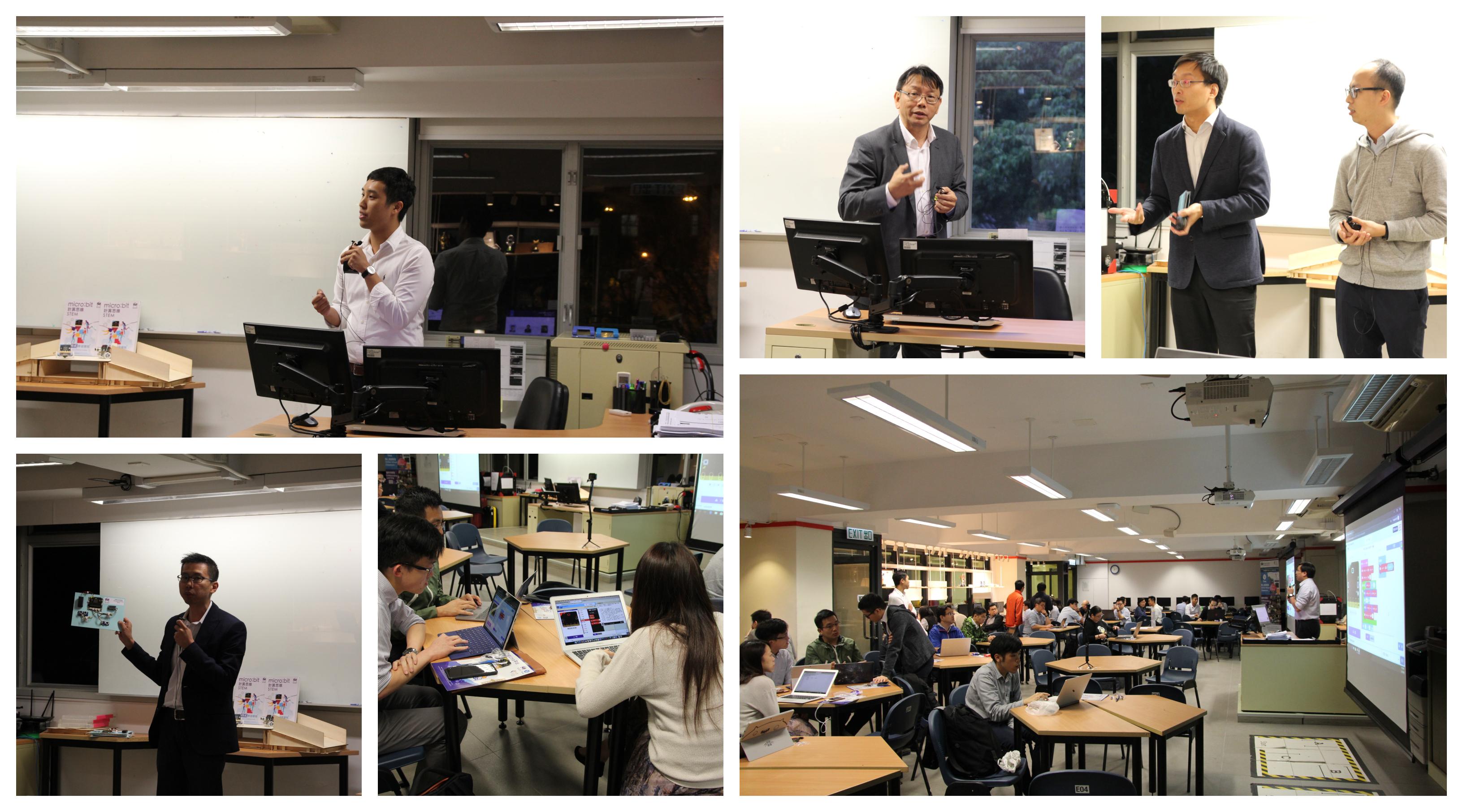 MagiCube Una AiTLE + MagiCube/ Workshop on Designing a micro:bit x STEM Collaboration Activity