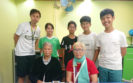 MagiCube Una student training for helping elderly