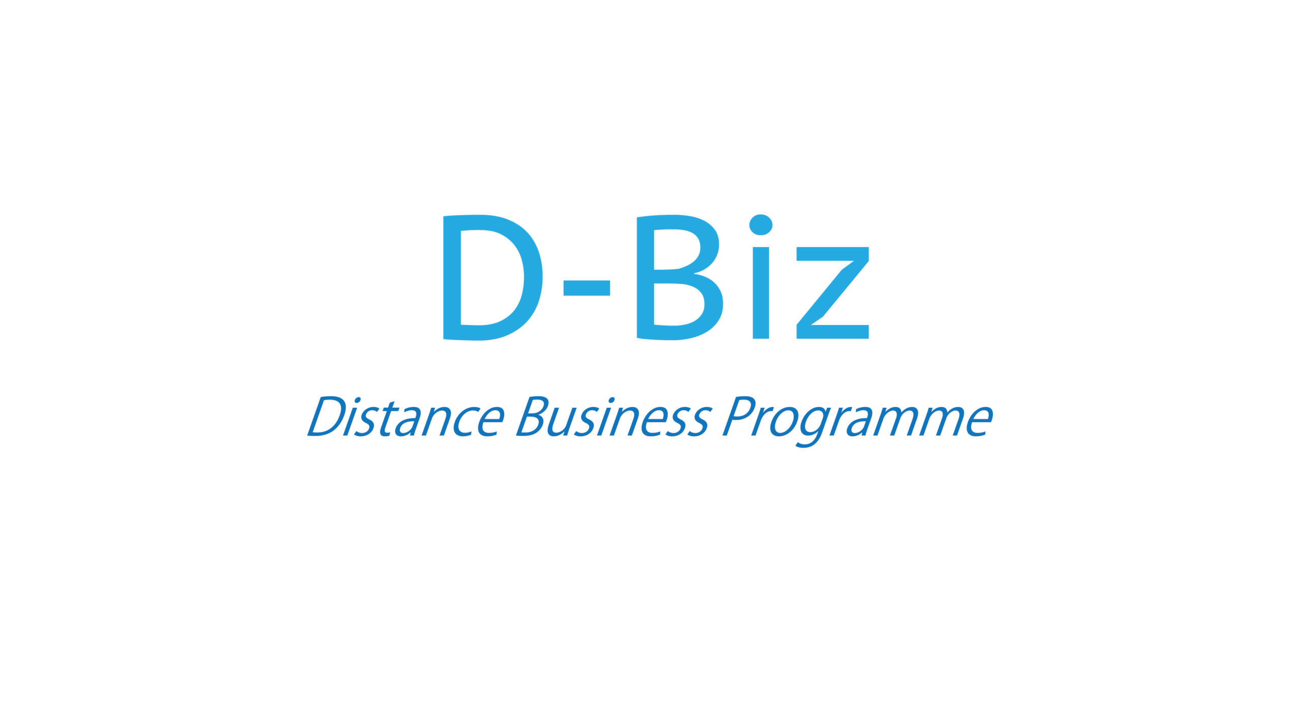 Distance Business Programme IT Service Providers (Ref. No.: SP-738-885)